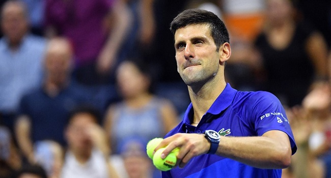 Djokovic faces Griekspoor in the second round of the US open