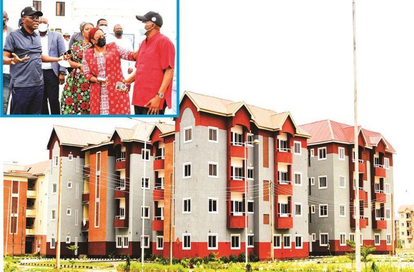 Sanwo-Olu Inspects 1,188-unit Sangotedo Housing Project, Sets Deadlines For Commissioning