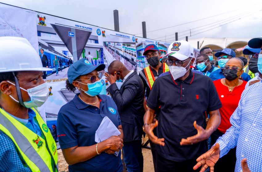 """""""We Will Complete Red, Blue Line Train Projects As Promised""""- Sanwo-Olu"""