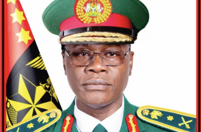 General Faruk Yahaya Vows To Apprehend Those Who Attacked The Nigeria Defence Academy