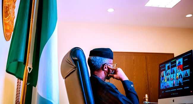 Osinbajo Seeks Strict Measures Against Nations Where Military Seizes Power