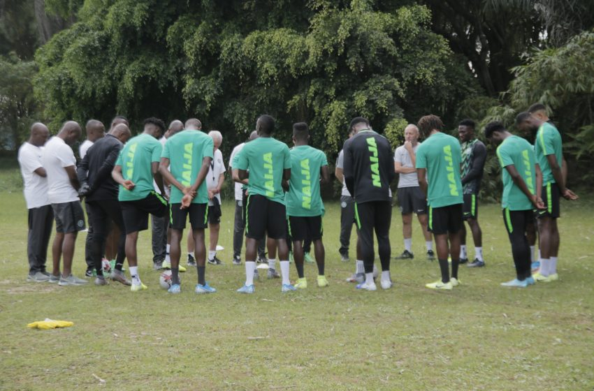 Eight Stars Missing As Eagles Train On Cape Verde's Artificial Pitch