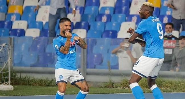 Osimhen scores again, fires Napoli to top spot