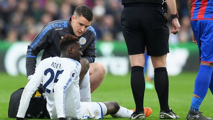 Ndidi out for four weeks with hamstring injury